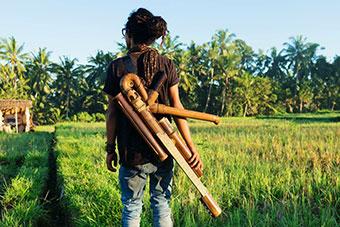 Le Bambou Se Decline Sous Toutes Les Formes A Bali Inventaire